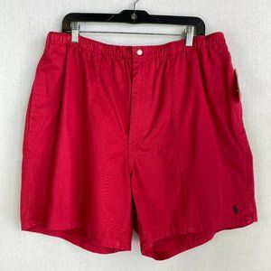 POLO BY RALPH LAUREN Men Red Short NWT